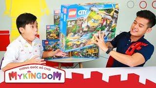 LEGO City Jungle   Lắp ráp 60162 - Trực Thăng Vận Tải Cỡ Lớn Thám Hiểm Rừng