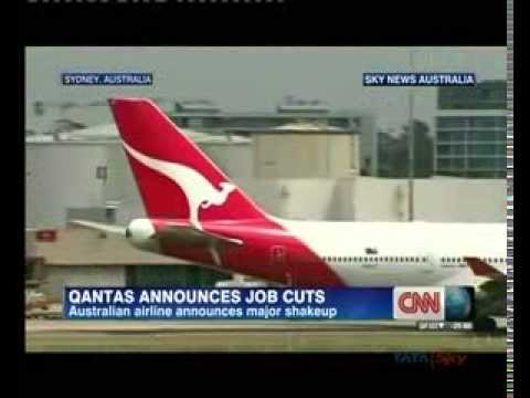 Airline company Qantas plans to cut 5000 jobs