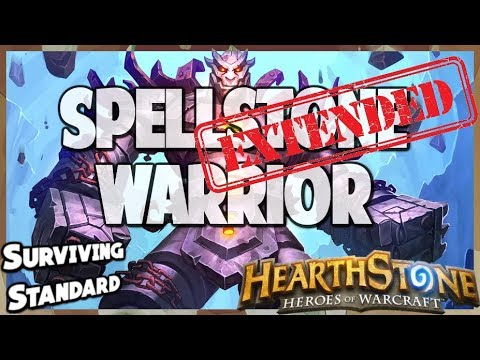 Spellstone Warrior | Extended Gameplay | Hearthstone | Kobolds and Catacombs