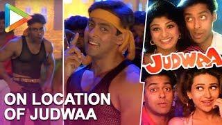 Hungama Flashack : On Location Of Judwaa view on youtube.com tube online.