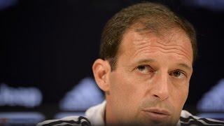 La conferenza di Allegri prima di Juventus-Atalanta - Allegri�s pre-Atalanta conference