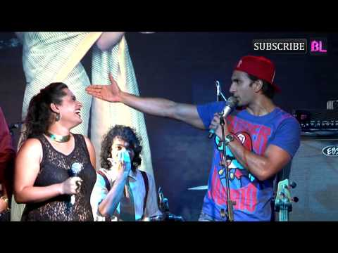 Ranveer Singh and Kalki at the album launch of Mikey McCleary   Part 1