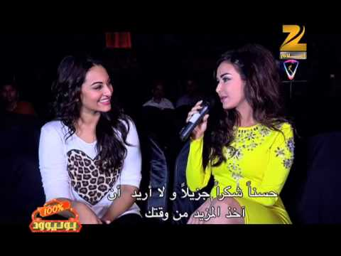 Sonakshi Sinha Interview on Zee Aflam (Zee Cine Awards 2014)