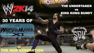 WWE 2K14: 30 Years Of Wrestlemania (EP13) The Undertaker