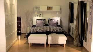 IKEA: Comment Changer Lu0027atmosphère De Chambre Grâce Au Textile   YouTube