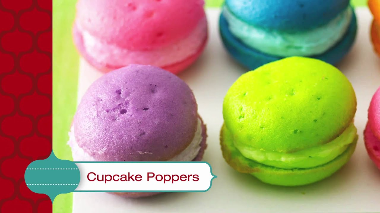 Best Cake Dessert Recipe - Cupcake Poppers - YouTube