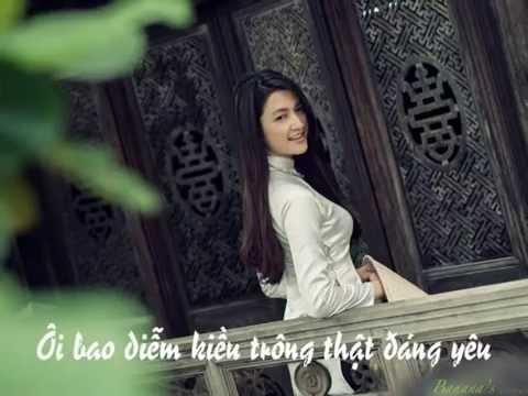Áo dài đẹp xinh - Trần thụy Minh - Hạnh Nguyên