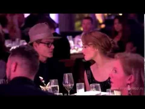 Johnny Depp and Amber Heard at Art of Elysium Gala evening ( HD ) longer video