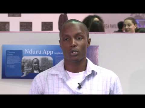 Thomas Kioko - Interview, Young Innovators, ITU Telecom World 2013