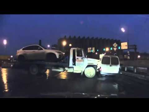 tow truck accident