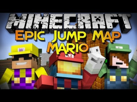 Minecraft: Epic Jump Map - Mario Edition (Finale) -xDpKHj8SW60
