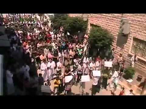 حماة مورك جمعة رمضان النصر سيكتب في دمشق 20 7 2012