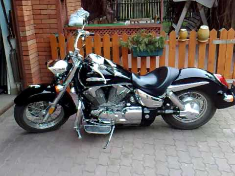 honda vtx 1300 retro sound of drilled stock pipes. Black Bedroom Furniture Sets. Home Design Ideas