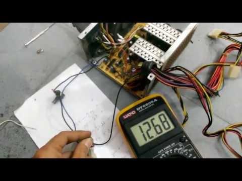 Mod nguồn atx để có điện áp ra tùy ý sạc acquy. hanquockorean@gmail.com