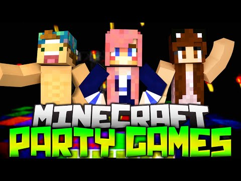 MINECRAFT PARTY GAMES! EP.1