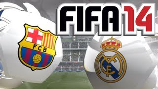 FIFA 14 Gameplay FC Barcelona Vs. Real Madrid [FULL-HD