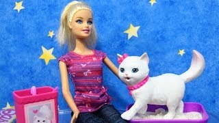Potty Trainin` Blissa Barbie Fashion Doll And Pet Playset