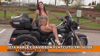New 2014 Harley Davidson Tri Glide Ultra Trike For Sale
