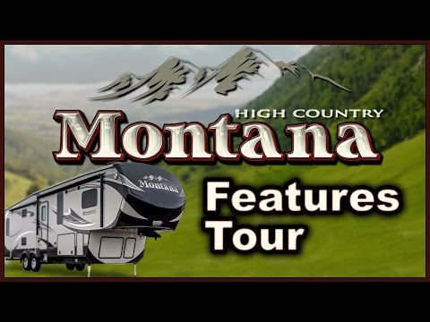 Keystone Montana High Country RV 2016 5th Wheel Features Tour Video Review