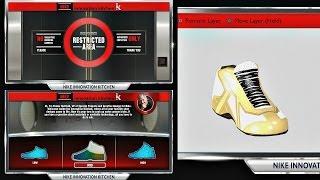 NBA 2K14 Next Gen MyCAREER Signature Shoe Creation! PS4