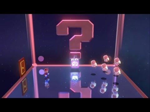 Super Mario 3D World 100% Walkthrough Part 39 - World Crown - Mystery