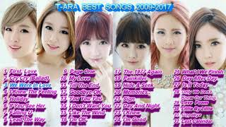 T-ARA 티아라 Great Songs (part 2)              32 ballad songs 2009-2017