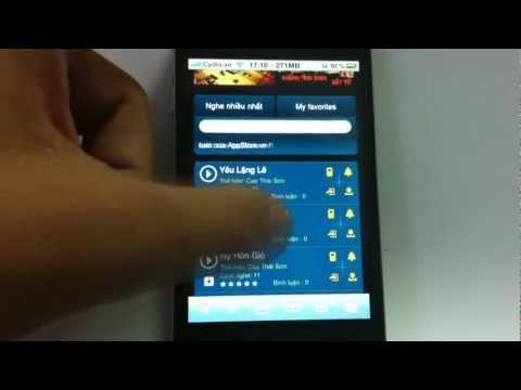 Hướng dẫn cách tải nhạc cho iPhone với kho nhạc AppStore.vn