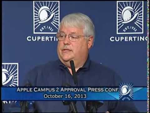Apple Campus 2 Approval Press Conference