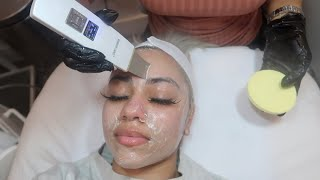 I Got the Best Facial in NYC 😱DermaPlaning & DermaInfusion