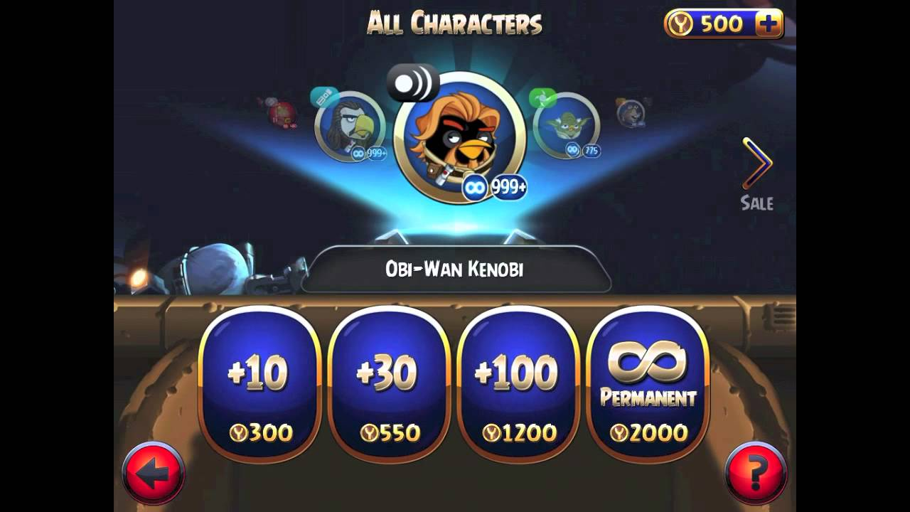 How to get unlimited coins in angry birds star wars ll youtube