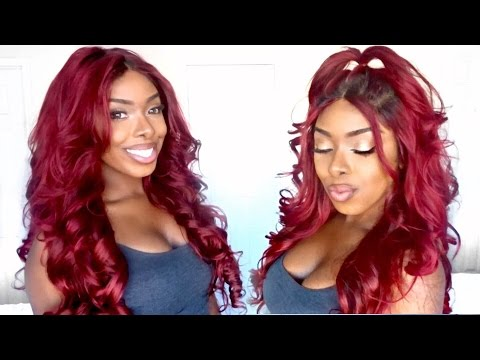 How I Got This Red/Burgundy Hair WITHOUT BLEACHING IT FIRST || Recool Hair