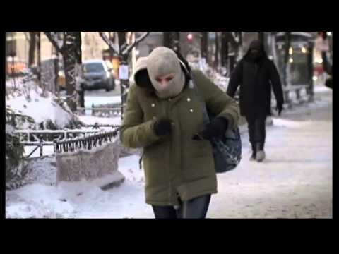 US polar vortex so cold Hell freezes over