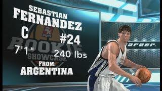 NBA 2K14 Creation Of My Player Athletic Center My