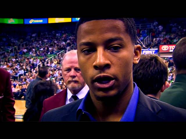 NBA Rooks:  Trey Burke - Making up for Lost Time