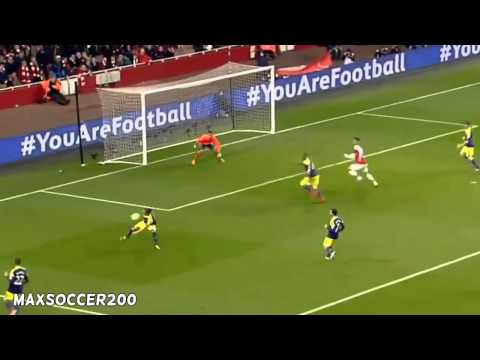 Arsenal vs Swansea City 2 - 2 All Goals & Highlights 25/03/2014