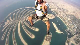 Скайдайвинг в Дубае