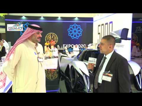 4515HKSZ TV VISION DUBAI ARABIA WITH MR NASIR MOTOR SHOW