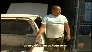 Rod�zio de �gua come�a em JF - Alterosa em Alerta - 17/10
