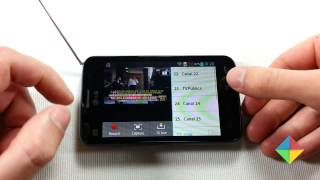 LG Optimus L4 II: Aplicación De TV