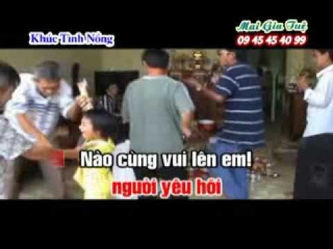 KHUC TINH NONG [KARAOKE NHAC SONG 2014]