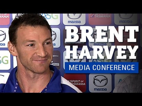 July 17, 2014 - Brent Harvey re-signs (Media conference)