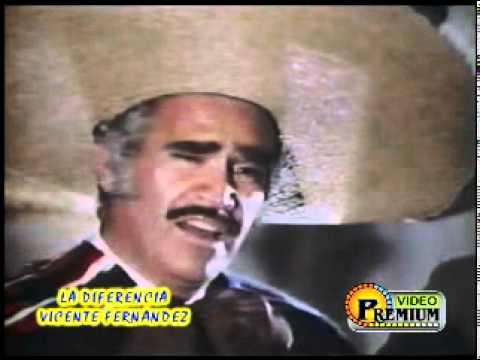 Hình ảnh trong video Vicente Fernandez - La Diferencia