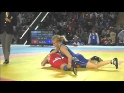 Sofia Mattsson Wrestling Highlight (Sweden Wrestling)