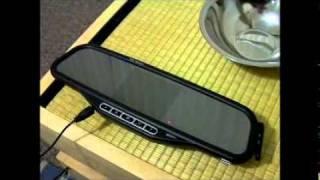 Wireless Reversing Camera & Mirror With Bluetooth