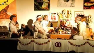 Spirituelle Hochzeit von Mahavishnu und Anandaprema