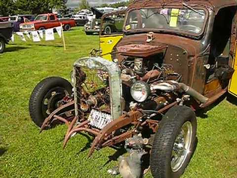 Incredible Maine-made rat rod - 1937 Chevy - P1480146.MOV