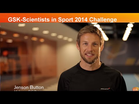 GSK-Scientists in Sport 2014 Challenge: a first look with Jenson Button