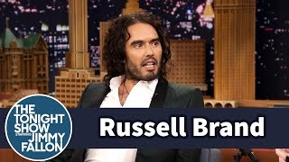 Jimmy Fallon's Russell Brand Impression