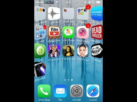 Cách thay hình nền cho ứng dụng Iphone bằng PaperBoard