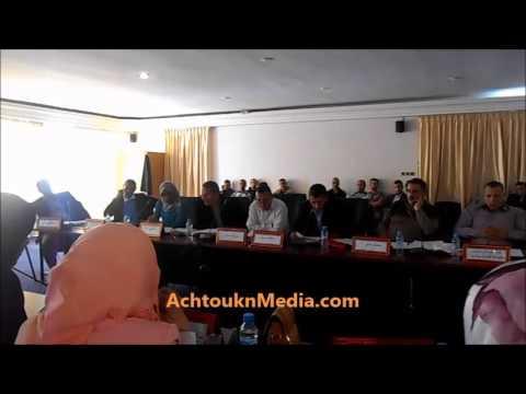 بالفيديو :تقرير حول وضعية قاعة الرياضات ببيوكرى يفجر مشادات كلامية بين اعضاء المجلس